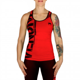 Venum Power Tank Top - Black/Red - For Women