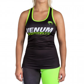 Venum Training Camp Débardeur - Pour Femme - Black/Neo Yellow
