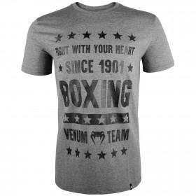 Venum Boxing Origins T-shirt - Heather Grey