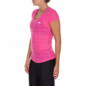 Venum Essential V Neck T-shirt - Pink