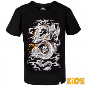 Venum Dragon's Flight Kids T-shirt - Black/White