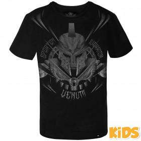 Venum Gladiator Kids T-shirt - Black/Black