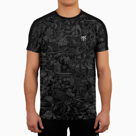 T-shirt Wicked One Born To Resist - Noir