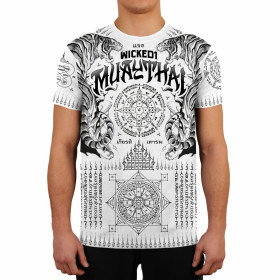 T-shirt Muay Thai Wicked One - Blanc