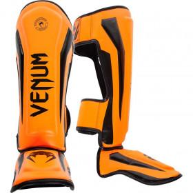Venum Elite Standup Shinguards - Orange