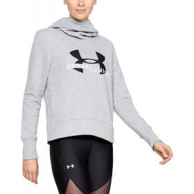 Sweatshirt Femme Fleece Sportstyle Logo - Gris