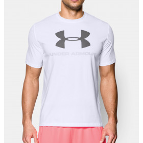T-shirt Under Armour Sportstyle Logo - Blanc