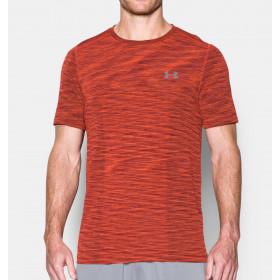 T-shirt Under Armour Threadborne Seamless - Orange
