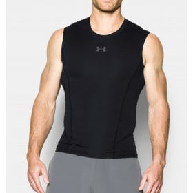 Débardeur de compression Under Armour Heatgear Supervent 2.0 - noir