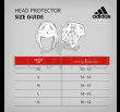 Headgear for Taekwondo from Adidas - Approved by the Ffkarate