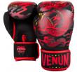 Venum Dragon's Flight Boxing Gloves - Black/Red - Exclusive