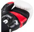 Venum Elite Boxing Gloves - White/Black/Red