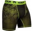 Venum Fusion Compression Shorts - Black/Yellow