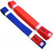 Kumite Kaiten Belt - Red / Blue