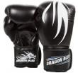Boxing Gloves Dragon Bleu- Black