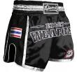Short Muay Thai 8 Weapons Carbon