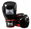 Metal Boxe  Gloves for competition- Black / Red