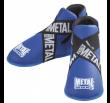 Metal Boxe  Foot Guards Full Contact - Blue