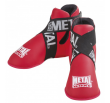 Metal Boxe  Foot Guards Full Contact– Red