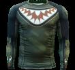 Rashguard Hardcore Wear Bomb Shark