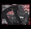 T-shirt Hardcore Wear Ninjas - Noir