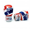 """Gants de Boxe Fairtex """"Thai Pride"""" - Blanc/Bleu/Rouge"""