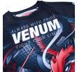Venum Rooster Rashguard - Long Sleeves - Navy Blue/Orange