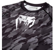 Venum Tecmo Rashguard Short Sleeves- Dark Grey