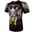 Venum Viking 2.0 Rashguard Short Sleeves - Black/Yellow