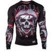Venum Pirate 3.0 Rashguard - Black/Red - Long Sleeves