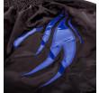 Short de Boxe Anglaise Dragon Bleu - Black