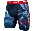 Venum Rooster Compression Shorts - Navy Blue/Orange