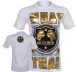T-shirt Muay Thai Squad blanc
