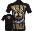 T-shirt Muay Thai Squad noir