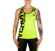 Venum Power Tank Top - Neo Yellow/Black - For Women