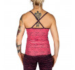 Venum Camoline Tank Top - Coral/Dark Purple