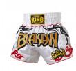 Short Muay Thai Buakaw Blanc Top King