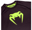 Venum Contender 3.0 Compression T-shirt - Long Sleeves - Black/Neo Yellow