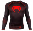 Venum Contender 3.0 Compression T-shirt - Long Sleeves - Black/Red