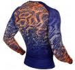 Venum Tropical Compression T-shirt - Blue/Orange
