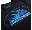 T-shirt Dragon Bleu – Black